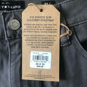 Lucky Brand Jeans - NWT Lucky Brand Athletic Slim Pants. Size 34/30